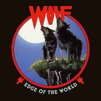 WOLF - EDGE OF THE WORLD (RED/BLACK MARBLED vinyl LP)