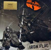 WU-TANG CLAN - IRON FLAG (TRANSPARENT vinyl 2LP)